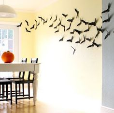 Decorate for halloween on a budget with these dollar store halloween decor ideas. From spooky halloween wreaths to scary yard halloween decorations, there are plenty of DIY halloween decorations to choose from. There are both indoor and outdoor halloween decor ideas for inspiration.