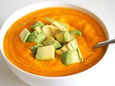 Ainon tarinoita treenaamisesta: Myskikurpitsa-kasvissosekeitto Cantaloupe, Fruit, Food, Essen, Meals, Yemek, Eten