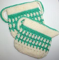 crochet pot holders...