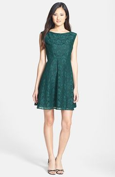 French Connection Lace Fit Flare Dress available at Holiday cocktail dress Fit And Flare, Fit Flare Dress, Event Dresses, Holiday Dresses, Cute Dresses, Beautiful Dresses, Fall Bridesmaid Dresses, Cute Fashion, 3d Fashion