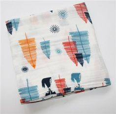 "Baby Muslin Blanket 100%Cotton Baby Swaddle Blankets Set, 47 ""x 47""Newbron Gift Infant Muslin Multifunctional Receiving Blanket"