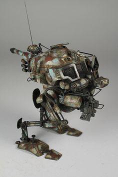 Kevin Derken http://www.a1-plastik.com/ Maschinen Krieger Models