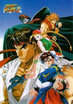 Ryu, Ken, Chun-Li, Cammy, M. Bison Heroes Reborn, Fighting Games, Mortal Kombat, Fan Art, Animation, Cartoon, Anime, Movies, Ryu Ken