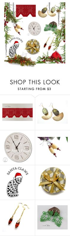"""Time to Shop Etsy"" by whimzingers ❤ liked on Polyvore featuring National Tree Company"