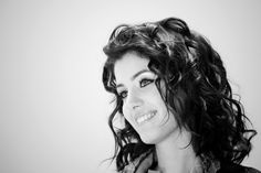 Beauty in BW... Katie Melua...