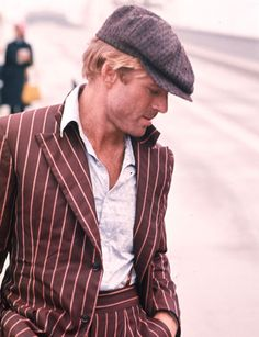Robert Redford in The Sting - I remember seeing this at the Cinema, when he goes to see his girlfriend, the stripper, on stage at the theatre and winks at her……. Robert Redford, Santa Monica, Classic Hollywood, Old Hollywood, Gorgeous Men, Beautiful People, Hello Gorgeous, Diana Krall, Actrices Hollywood