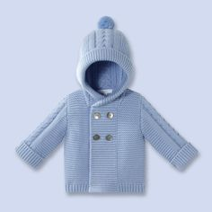 kapson 73 on 43 kol 50 Baby Boy Knitting Patterns, Baby Sweater Knitting Pattern, Baby Hats Knitting, Sweater Patterns, Baby Cardigan, Baby Vest, Hooded Cardigan, Baby Outfits, Kids Outfits