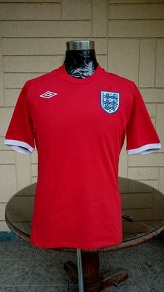 ENGLAND FIFA WORLD CUP 2010 AWAY JERSEY SHIRT  ...visit... www.vintagesoccerjersey.com Vintage Jerseys, Fifa World Cup, Football Jerseys, Jersey Shirt, Polo Ralph Lauren, England, Classic, Mens Tops, How To Wear