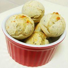 Receita: Pão de Queijo Integral com Quinua e Linhaça - Bagagem de Mãe