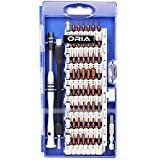 ORIA Precision Screwdriver Set S2 Steel Magnetic Driver Kit 60 in 1 Professional Electronics Repair Tool Kit for iPhone 7/ Cell Phone/ iPad/ Tablet/ PC/ MacBook and Other Electronics Devices