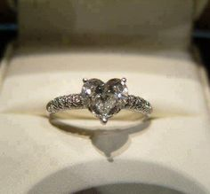 Love this engagement ring so much!!
