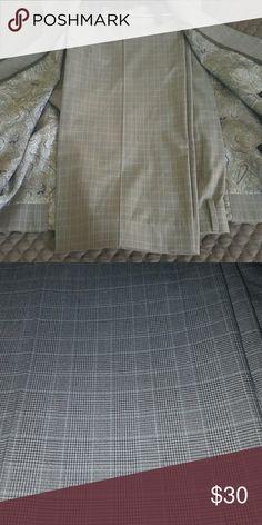MENS Express photographer slim fit dress pants Vest sold separately .pants 34/30 Express Pants Dress