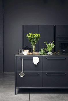 ▷ Wandfarbe Ideen, die Sie beim Anblick sicherlich fesseln werden Kitchen Interior, Home Interior Design, Apartment Kitchen, Küchen Design, House Design, Espace Design, Ideas Hogar, Romantic Home Decor, Kitchen Models