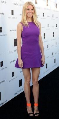Celeb mom style steals: Get Gwyneth Paltrow's purple shift dress