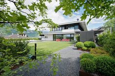 A Stunning Contemporary Home with Exquisite Landscaping - Trento, Italy