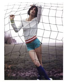 Goal. Indie Fashion, Sport Fashion, Retro Fashion, Fashion Models, Women's Fashion, Sport Editorial, Editorial Fashion, Fashion Editor, Football Fashion