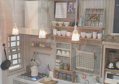 2018. Miniature Kitchen Dollhouse ♡ ♡ By Nunu's House