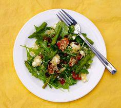 CPK quinoa arugula salad