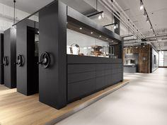 Gaggenau showroom, Amsterdam store design