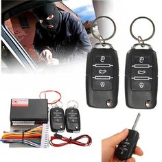 Car Remote Control Central Kit Door Lock Locking Keyless Entry System Universal  Worldwide delivery. Original best quality product for 70% of it's real price. Buying this product is extra profitable, because we have good production source. 1 day products dispatch from warehouse. Fast &...