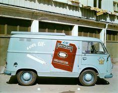 Ford Transit fotografert hos Tiedemand 1963.