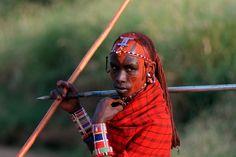 Amboseli warrior. #Africa #Kenya #WeLoveAfrica
