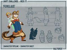 HART - Character Pipeline 2 by cheesefred.deviantart.com on @deviantART