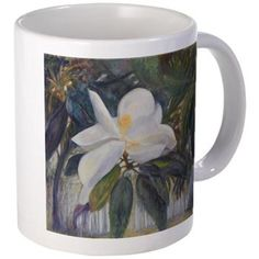 OLD FLORIDA MAGNOLIA Mugs