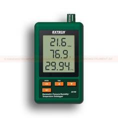 http://termometer.dk/luftfugtmaler-r13208/datalogger-til-lufttryk-temperatur-og-fugtighed-53-SD700-r13258  Datalogger til lufttryk, temperatur og fugtighed  Viser barometertryk i 3 enheder: hPa, mmHg og Hg  Tre-delt LCD display viser samtidig barometerstand, temperatur og relativ luftfugtighed  Datalogger dato / tid mark og gemmer aflæsningen på et SD-kort i Excel ® format for nem overførsel til en pc  Valgbare datafangsthastighed: 5, 10, 30, 60, 120, 300, 600 sekunder...