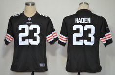 $19.85  Joe Haden Jersey Brown Nike Elite #23 Cleveland Browns Jersey