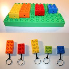 Readapta 2.0: Guarda-llaves LEGO via recyclart.org