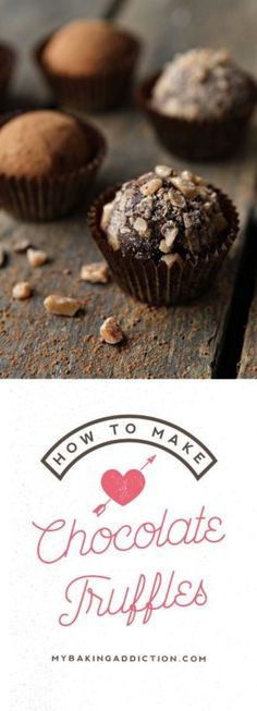How To Make Chocolate Truffles - you won't believe how easy they are to make at home!