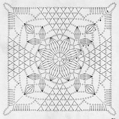 The rusticlacesquare pattern #freepattern #rusticlacesquare #grannysquare…
