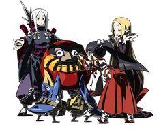 Character Art - Characters & Art - Disgaea 4: A Promise Unforgotten