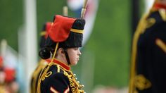 Queens 90th Birthday Celebrations - Trooping the Colour - Among the soldiers inspected by the Queen was the King's Troop Royal Horse Artillery, which is made up of 47% women