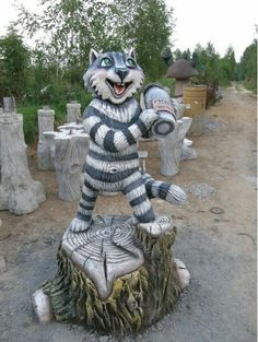 Vladimir Kolesnikov  Скульптуры из бетона