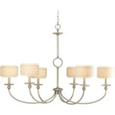 Progress Lighting | Ashbury 6-Light Chandelier
