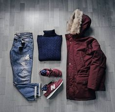 WEBSTA @ dimitris_kolonas - Cold days call for warm clothes...Parka: @carharttwipTurtleneck: @mango_man Jeans: @mango_man Sneakers: @newbalanceSunglasses: @rayban...#menwithclass #menwithstreetstyle #menwithstyle #mensstyle #mensfashion #menswear #menstyl