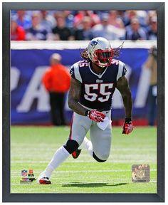 "Brandon Spikes 2013 NE Patriots - 11"" x 14"" Photo in a Glassless Sports Frame"