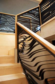 Raw Urth, KBIS, NKBA, New Orleans, railings, interior design, green, steel