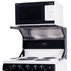 Over The Range Microwave Shelf Projects Done Pinterest