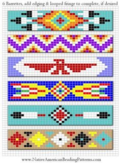 Free Native American Beadwork Patterns | previous | index | next »