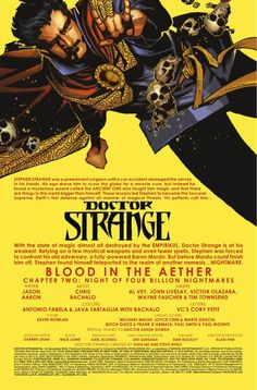 """Preview: Doctor Strange #13, Story: Jason Aaron Art: Chris Bachalo Cover: Chris Bachalo Publisher: Marvel Publication Date: October 19th, 2016 Price: $3.99    """"BLOO...,  #All-Comic #All-ComicPreviews #ChrisBachalo #Comics #DoctorStrange #JasonAaron #Marvel #previews"""