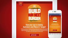 Build your Burger campaign, by Webling for McDonald's Australia.  Maccas Hype Reel   13 11 2014