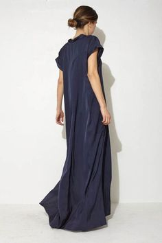 long dress - perfect choice for summer evening walks