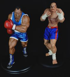 1/4 scale Street Fighter Balrog and Sagat statue   http://www.resinworx.com/