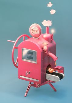 Love Station on Behance