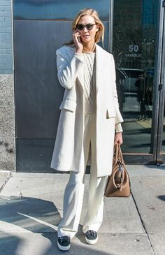 Models Winter Street Style Outfits | POPSUGAR Fashion Photo 10...Karlie Kloss