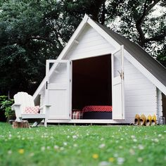 backyard tiny escape A-frame