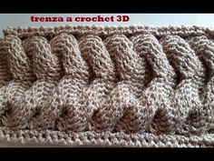 YouTube Crochet Poncho, Floor Rugs, 3 D, Crochet Patterns, Stitch, Knitting, Orange Carpet, How To Box Braid, Crochet Accessories